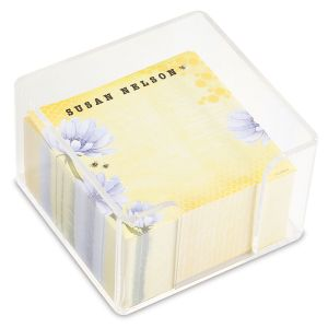 Personalized Bee Note Sheets in a Cube