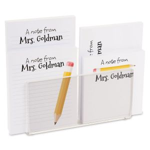 Yellow Pencil Notepad Set