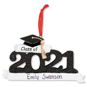 Personalized 2021 Graduate Ornament