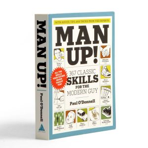 Man Up! Book by Paul O'Donnell