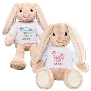 Somebunny Loves You Personalized Bunnies