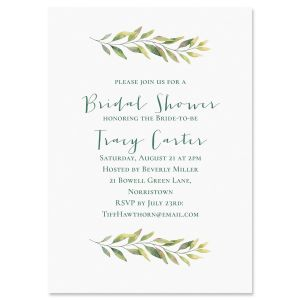 Fine Vine Personalized Invitations