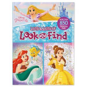 Disney Princess  Look & Find Book