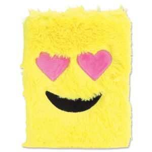 Emoji Heart-Eyes Furry Journal