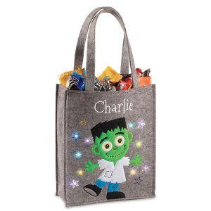 Halloween Light-up Frankie Tote Bag
