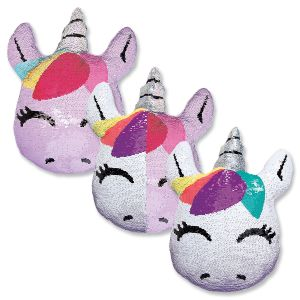 Unicorn Reversible Sequin Pillow