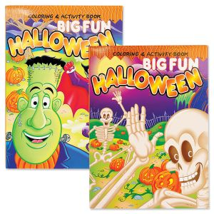 Halloween Big Fun Coloring Books