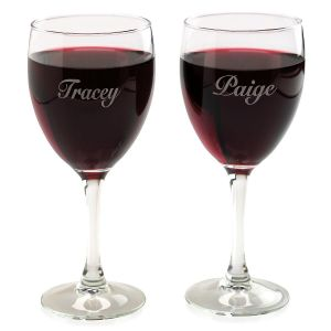 Personalized Individual Wine Glass