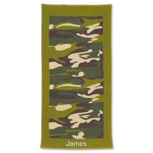 Camouflage Towel