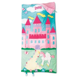 Personalized Castle Sleeping Bag