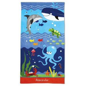 Under the Sea Towel