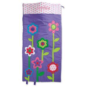 Personalized Flowers Sleeping Bag