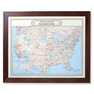 United States and World Customized Maps