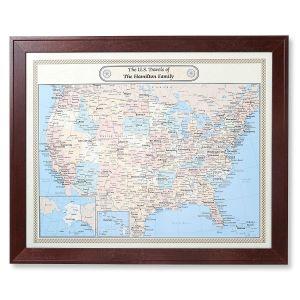 United States Customized Map