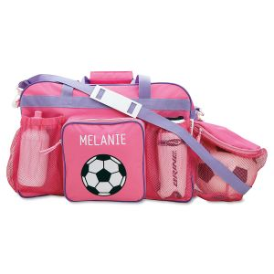 Pink Soccer Sport Bag