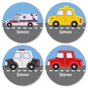 Vehicles Kids' Stickers