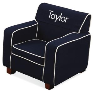 Personalized Slip-Covered Laguna Chair