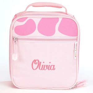 Pink Giraffe Lunch Bag