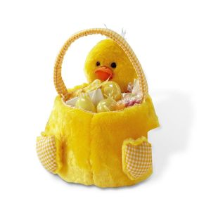 Chick Plush Friend Easter Basket