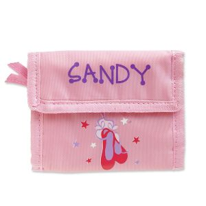 Personalized Girls Wallets-Ballet