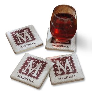 Tumbled Stone Personalized Coasters