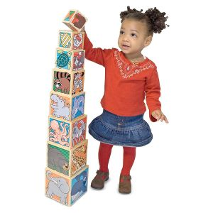 Animal Wooden Nesting Blocks by Melissa & Doug®