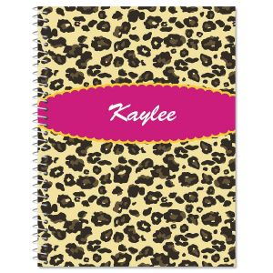 Leopard Spots Large Notebook
