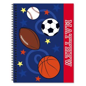All Sports Large Notebook