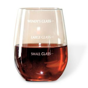 Drink Measure Wine Glass