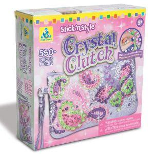 Stick 'n' Style Crystal Clutch