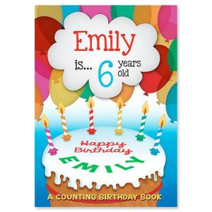 Counting Birthday Personalized Storybook