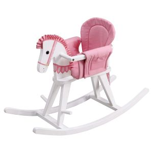 Pink Safari Rocking Horse