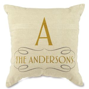 Family Decorative Personalized Pillow