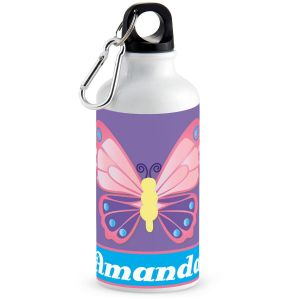 3-D Butterfly Water Bottle