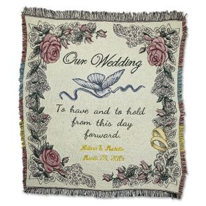 Wedding Personalized Throw