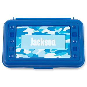 Pencil Boxes-Blue Camo-815863J