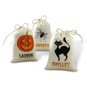 Canvas Burlap Treat Bags