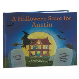 A Halloween Scare at My House Personalized Storybook