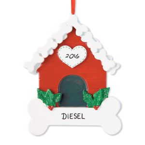 Dog Bone House Ornament