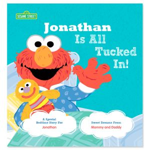 All Tucked In On Sesame Street Personalized Storybook