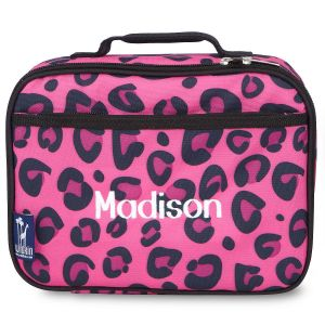 Pink Leopard Lunch Bag