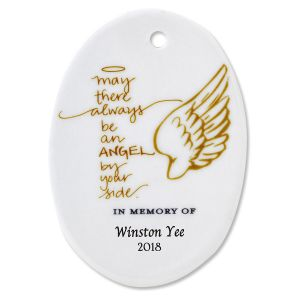 5c8233e2628 May There Always Oval Memorial Christmas Personalized Ornaments