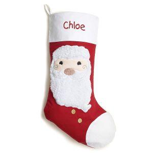 Santa Fabric Stocking