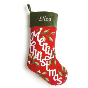 Merry Christmas Personalized Christmas Stocking