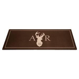 Deer Personalized Floormat