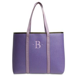 Large Merle Purple Tote Bag