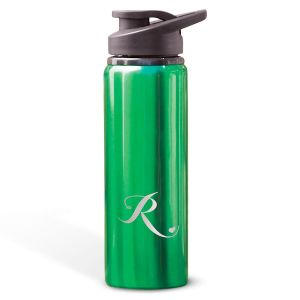 Aluminum Water Bottles with Heart