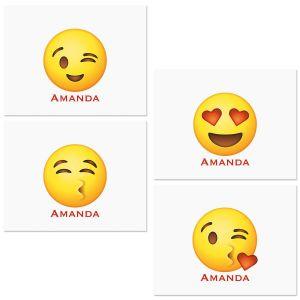 Emoji Correspondence Cards