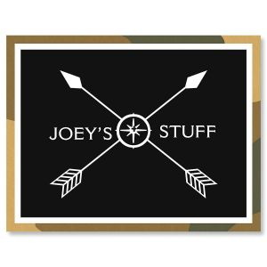 Camp Personalized Correspondence Cards