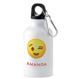 Wink Personalized Water Bottle